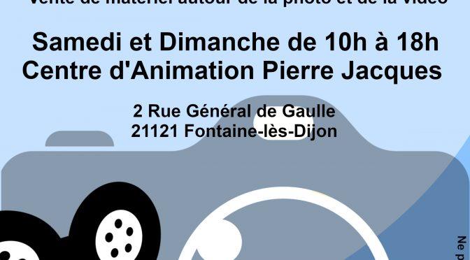 1ère bourse photo-vidéo les 14 et 15 septembre 2019 à FONTAINE-lès-DIJON