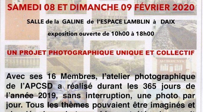 Exposition photographique  APCSD