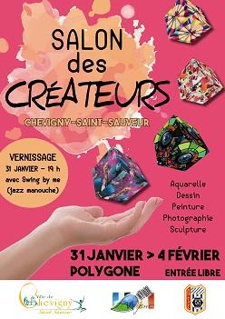 Salon des créateurs – Chevigny-Saint-Sauveur – 31 janvier > 4 février POLYGONE